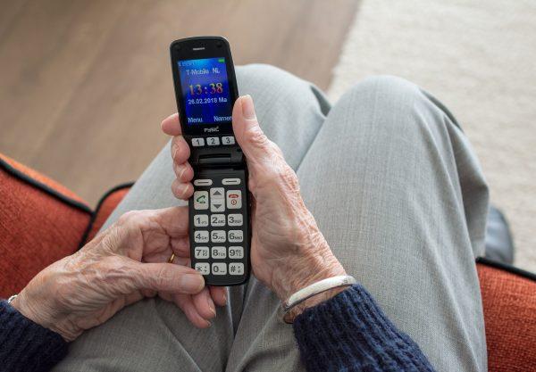 mobile pour senior